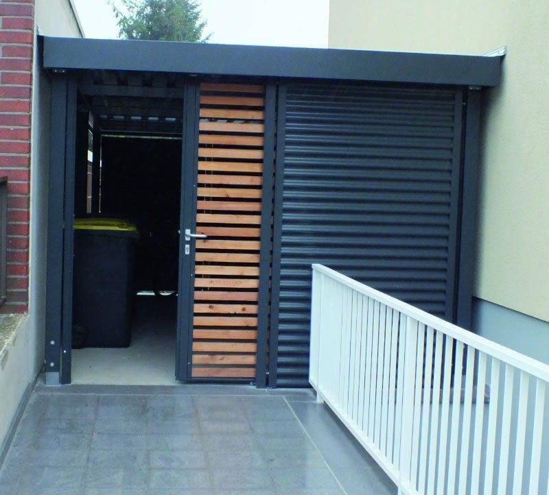 Schiebetür carport  Franz Graafen Söhne GmbH & Co. KG