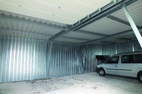 Innenansicht PROFIL-PLUS-Mehrfachbox mit Unterzug