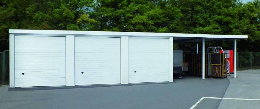 carport mit garage. Black Bedroom Furniture Sets. Home Design Ideas