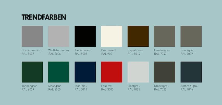 schwingtore trendfarben