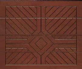Sektionaltor Typ ISO 45 - Holzmotiv Rom