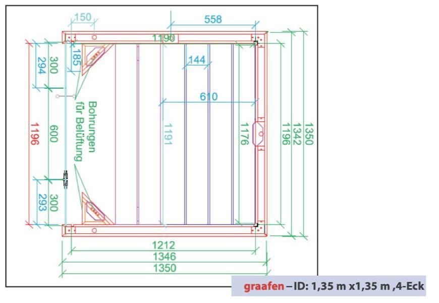 infrarotkabine graafen id grundriss